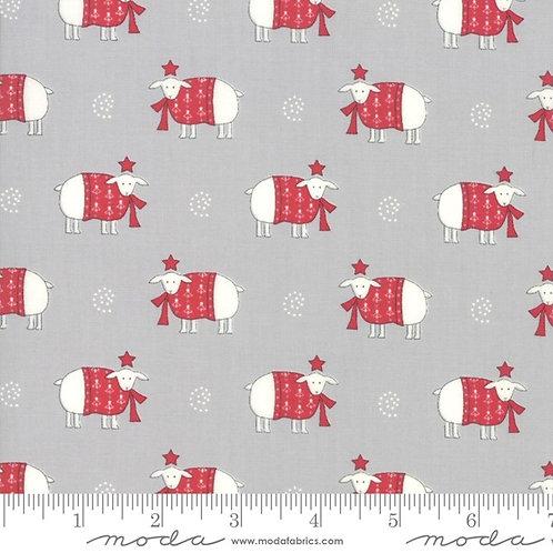 Country Christmas - Dusty Grey Sweater Weather - Moda Fabrics