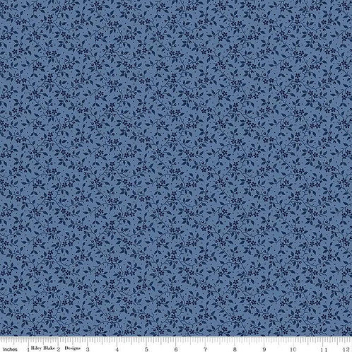 Delightful - Vines Blue