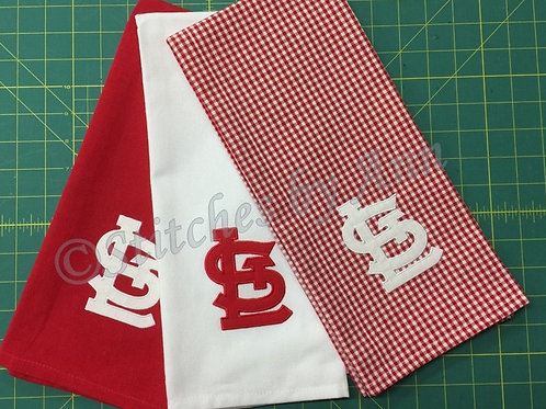 STL Cardinals Kitchen/Bar Towels