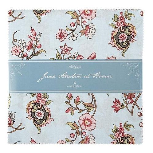 Jane Austen at Home 10 inch stacker
