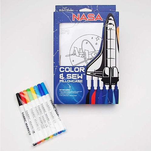 KIT - Color & Sew Pillowcase Kit - NASA