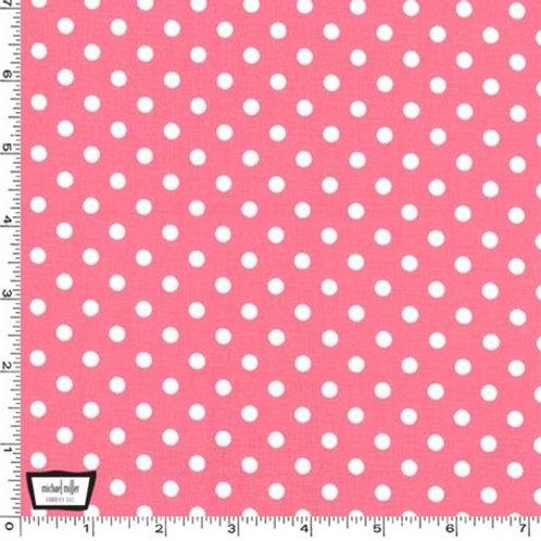 Dumb Dot -  Bubblegum Pink - Michael Miller