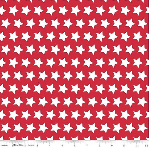 Star Red or Star Navy Fabric