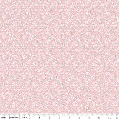 Penny Rose Rose Garden - Vines Pink - Riley Blake