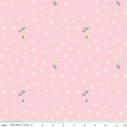 Rose & Violet's Garden - Dots Blush