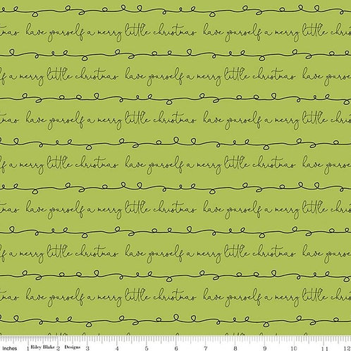 Merry Little Christmas - Writing Green