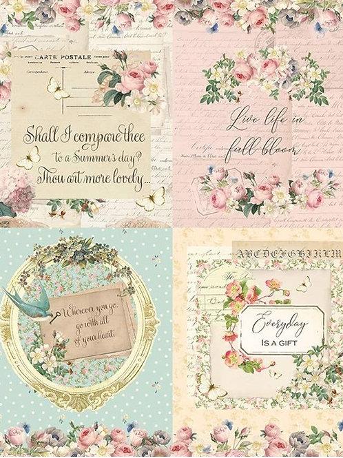 Rose & Violet's Garden Panel