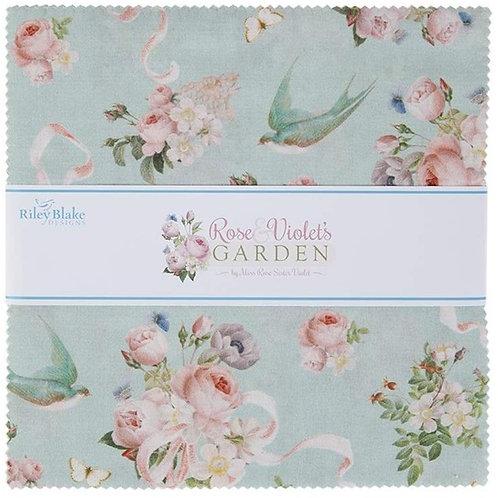 Rose & Violet's Garden - 10 inch stacker