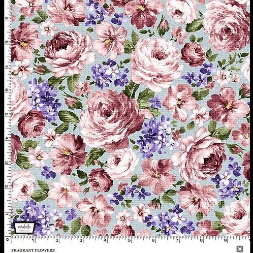 Fragrant Flowers Blue