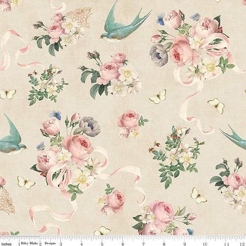 Rose & Violet's Garden - Main Parchment