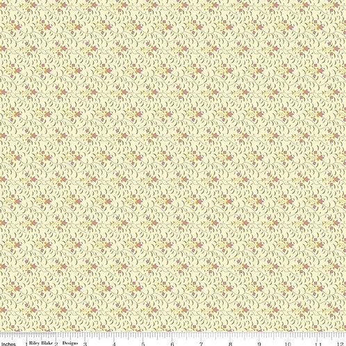 Buttermilk Basics Flowers & Vines Pink - Riley Blake