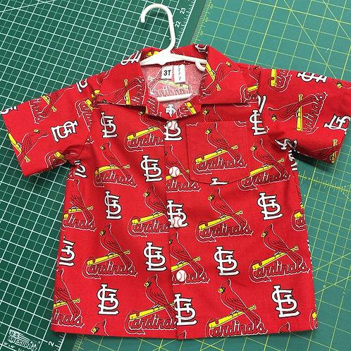 St Louis Cardinals Button-up Shirt