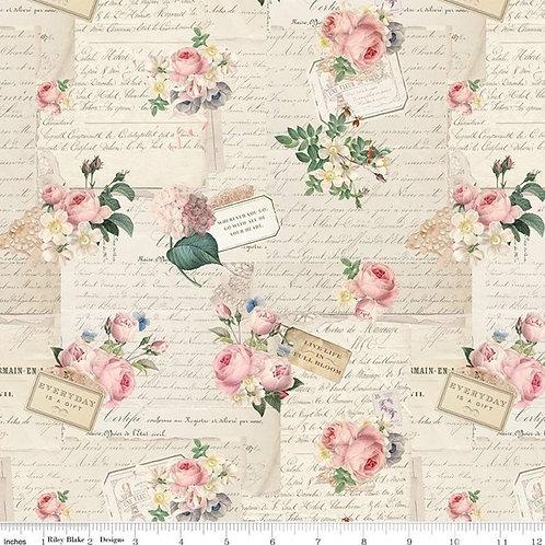 Rose & Violet's Garden - Party Parchment
