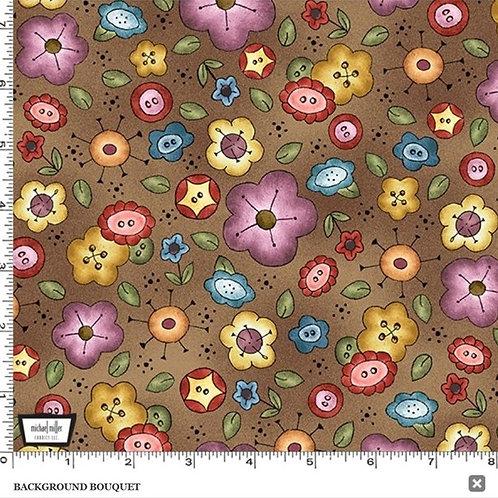 Background Bouquet - Brown