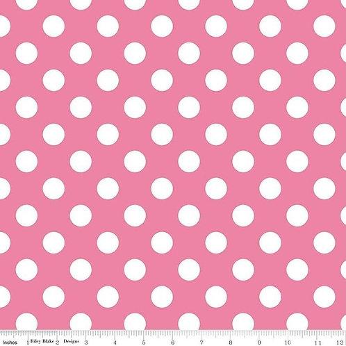 Medium Dots - Hot Pink - Riley Blake