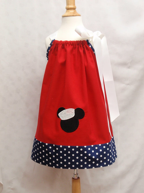 Sailor Mouse Ribbon Dress