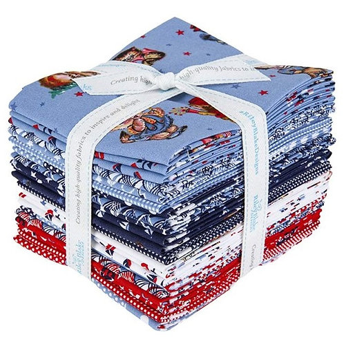 Set Sail America Fat Quarter Bundle
