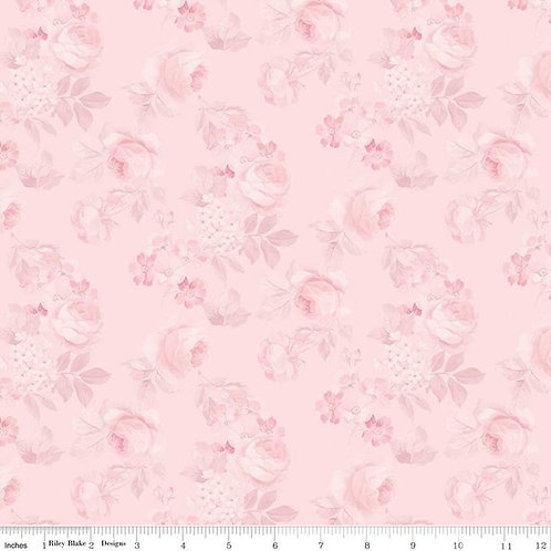 Rose & Violet's Garden - Faded Roses Blush