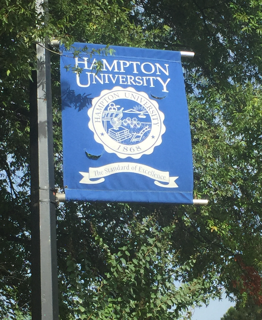 Go. Explore. Love. at Hampton U