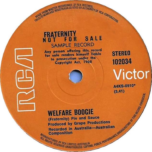 Welfare Boogie
