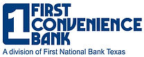 First Convenience Bank Blue - With Tag.j
