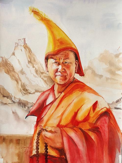 Peaceful Monk