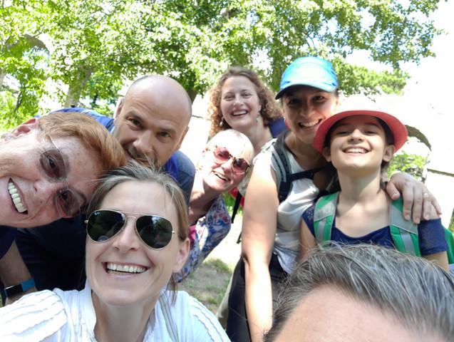 Yogawalk und Yoga in Wien mit Sabine Stix