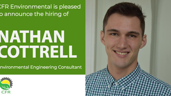 Nathan Cottrell Joins CFR Environmental