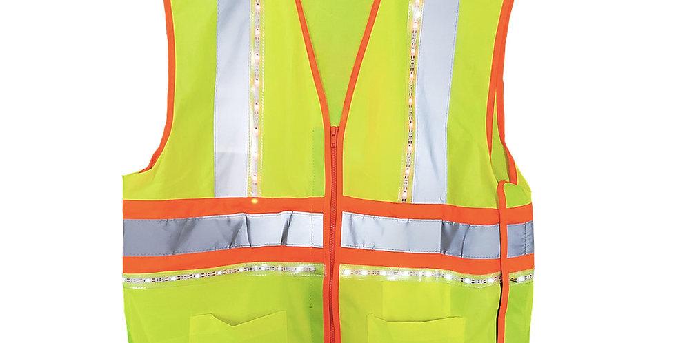 360 LED High Visibility 4 Point Breakaway Vest