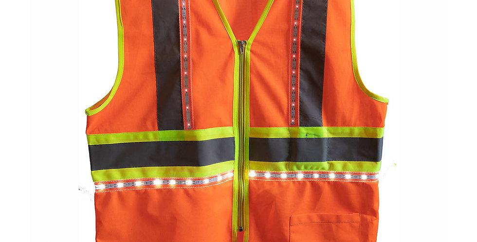 360 Degree LED Safety Vest