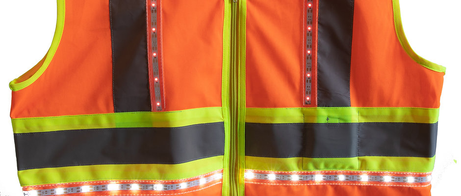 360 LED Safety Vest