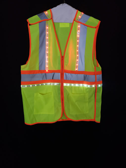 360 LED High Visibility 4 Point Breakaway Vest