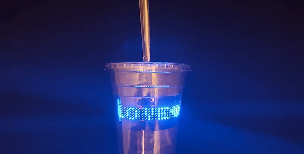 Sip-N-Say LED Disposable Cup