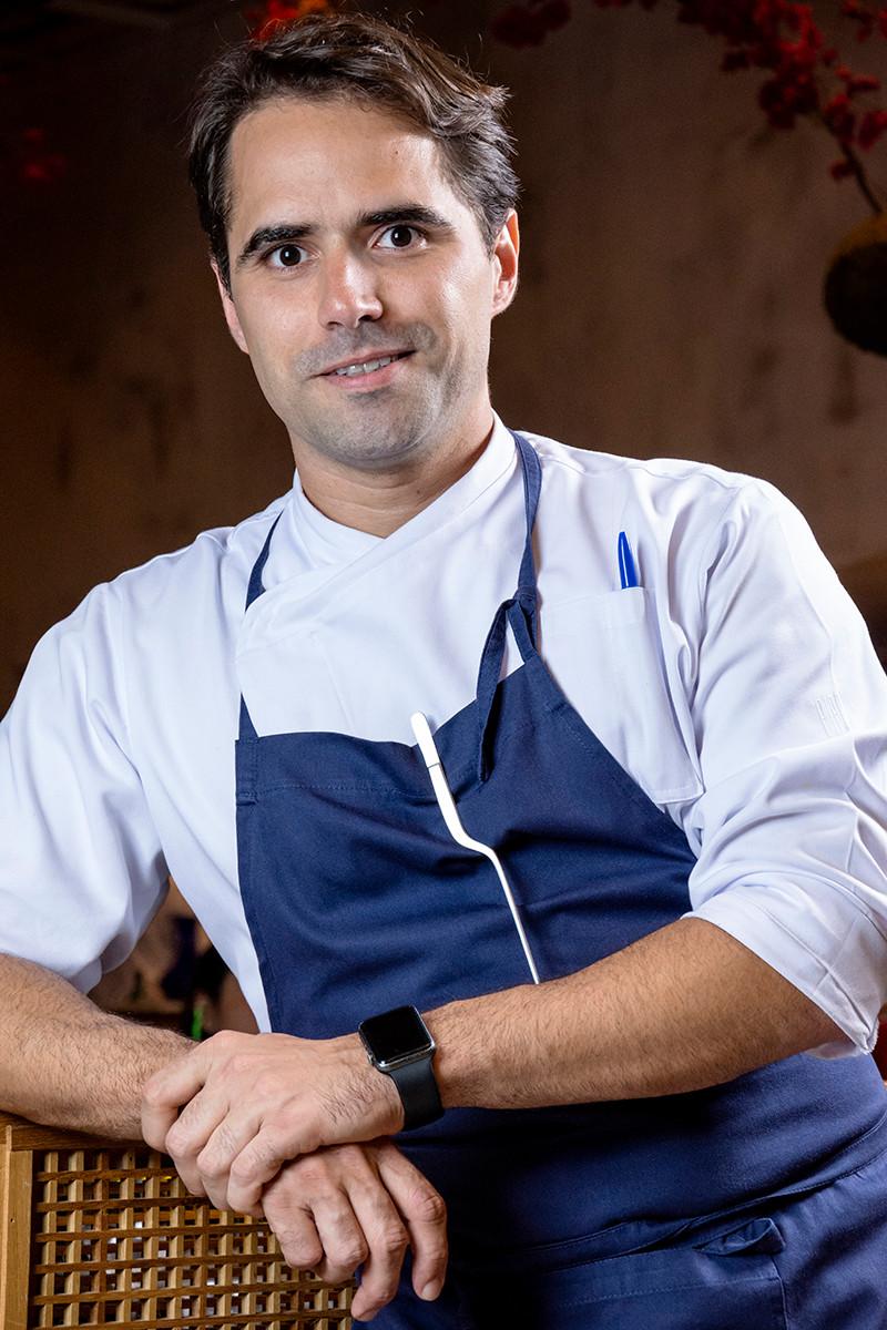 Fotografia do chef do Pipo restaurante