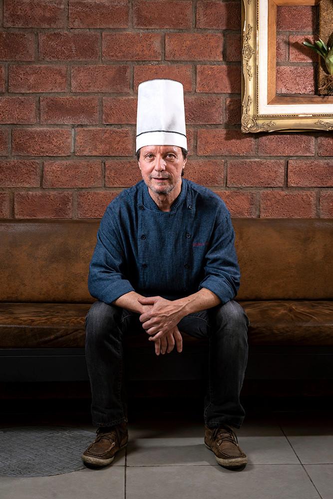 Fotografia do chef de restaurante para assessoria de imprensa