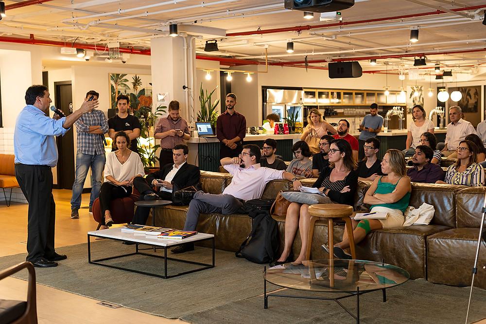 Workshop na Wework do Rio de Janeiro