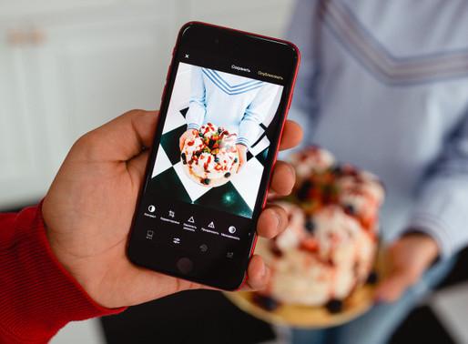Como tirar boas fotos de comida? Enquadrando a imagem.