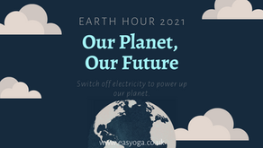 Earth Hour 2021 27th March at 8.30pm