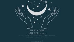 New Moon 12th April 2021