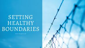 Setting Healthy Boundaries