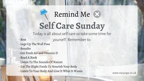 Self Care Sunday Reminders