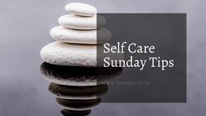 Self Care Sunday Tips