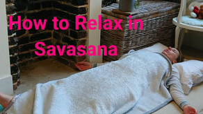How to Relax in Savasana