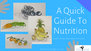 A Quick Guide To Nutrition