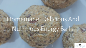 Homemade, Delicious And Nutritious Energy Balls