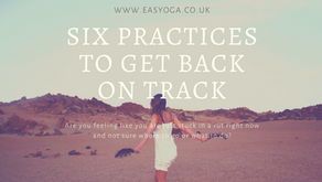 Six Practices To Get Back On Track