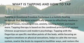 Tapping or Emotional Freedom Therapy