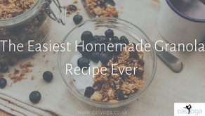 The Easiest Homemade Granola Recipe Ever