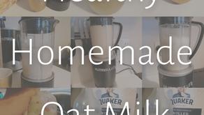 Healthy Homemade Oat Milk