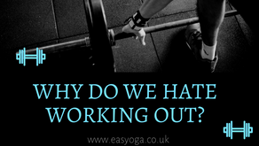 Why Do We Hate Working Out...